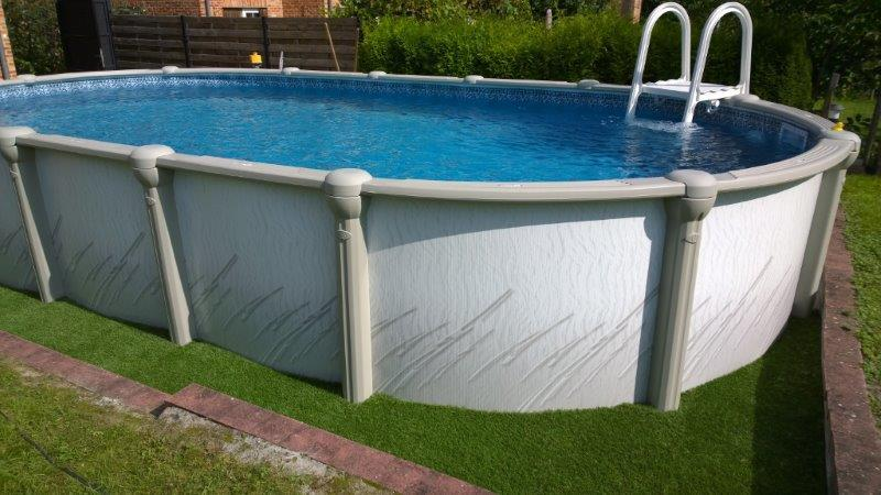 Atrium opbouwzwembad vogue hoveniertje wellen