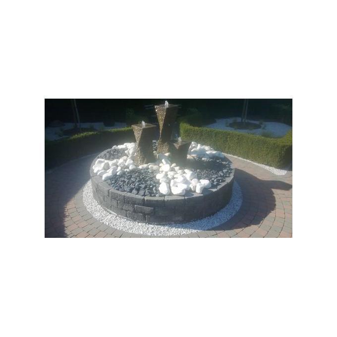fontein op polyester bak